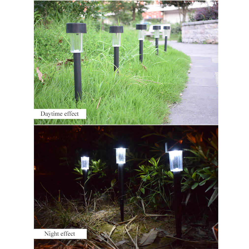 Led Outdoor No Wiring Required Ip55 Abs+Stainless Steel Solar Lawn on